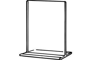 OFM T-Frame Sign Holder