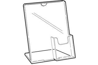 Freestanding Sign Holder with Pocket