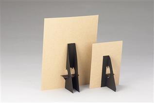 Self-Sticking Cardboard Easel