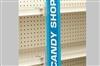 Under-Shelf Mount SuperGrip® Sign Holder