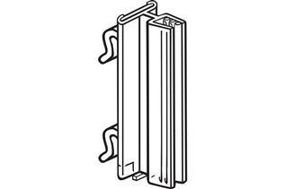 Warehouse Upright SuperGrip® Sign Holder, Square Hole