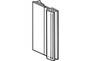 SuperGrip® Flush Mount Sign Holder w/ Hinge