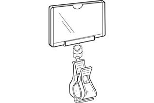 1607 Clip-On Sign Protector