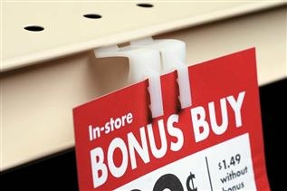 2435 Double-Duty™ Shelf Channel Sign Holder