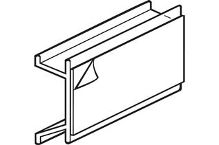 Channel Mount with Adhesive