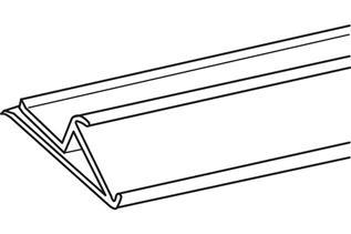 Angled Tag Molding