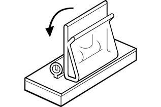 4333 Magnetic Adjustable Sign Holder