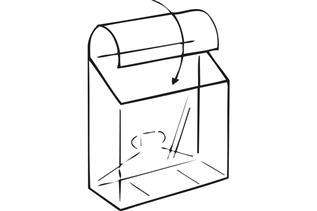 KL Pop-Up® Literature Box