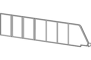 Contoured Shelf Dividers