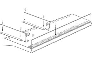 Integrated Front Fence and Divider System