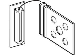 CC400 Corr-A-Clip® Shelf Supports