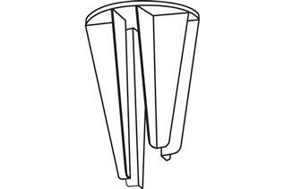 Pallet Display Clip, 4-Way