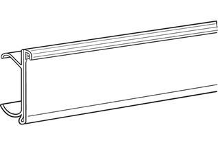Data Strip® SuperGrip® Label Holder for Metro® Shelving