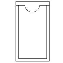 Adhesive Vinyl Tag Pockets