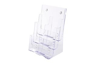 Excelsior® Triple-Tiered Literature Holder