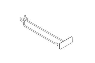 Scannable™ All-Wire Scan Hooks with Metal Plate