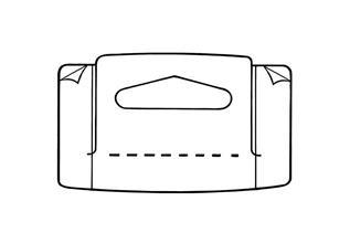 RFC-5113 Hang Tab Box Top, Roll Form