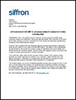 siffron invests in manufacturing