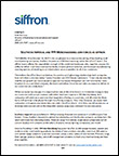 SI and FFR Join Forces as siffron