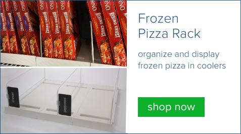 frozen pizza rack