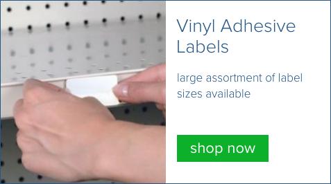vinyl adhesive labels