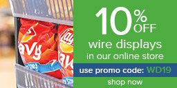 10% Off Wire Displays