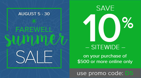 Farewell Summer Sale