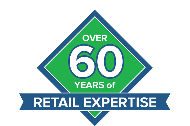 60 Years Retail Expertise