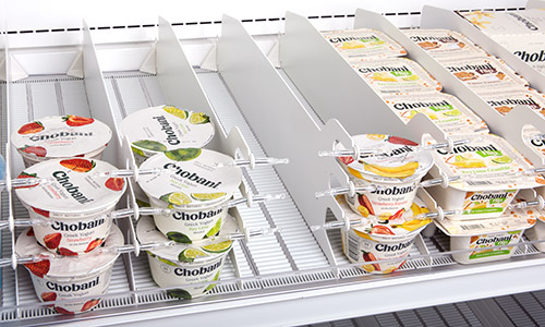 Roller Track - Yogurt Shelf