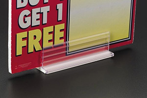 Adhesive and Flat Surface Sign Holders