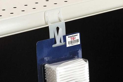 Plastic Die-Cut Merchandising Strips