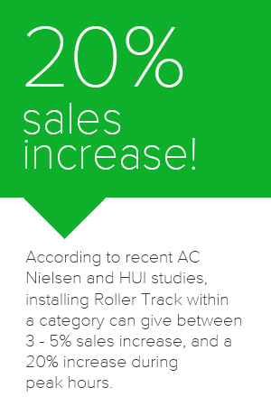 20 percent sales increase!